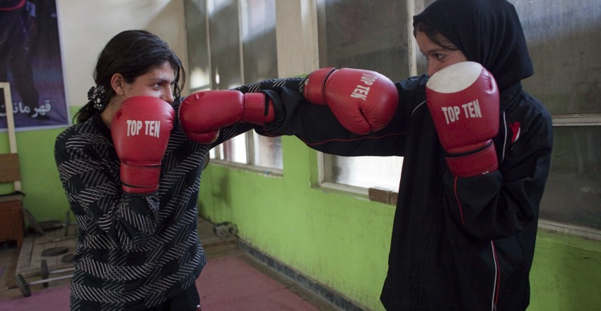 """The Boxing Girls of Kabul"""