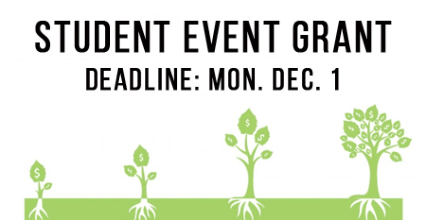 Student Event Grant: Winter 2015