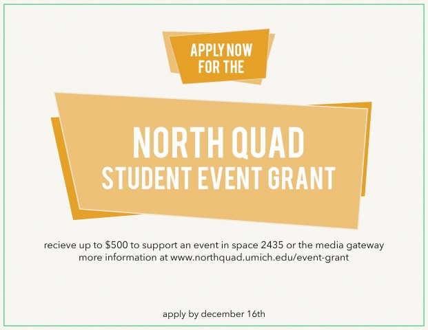 Event Grant Poster