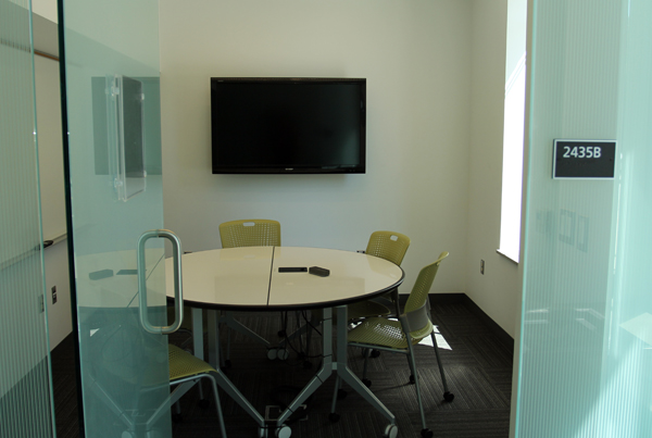 Gateway Study Rooms Reservation