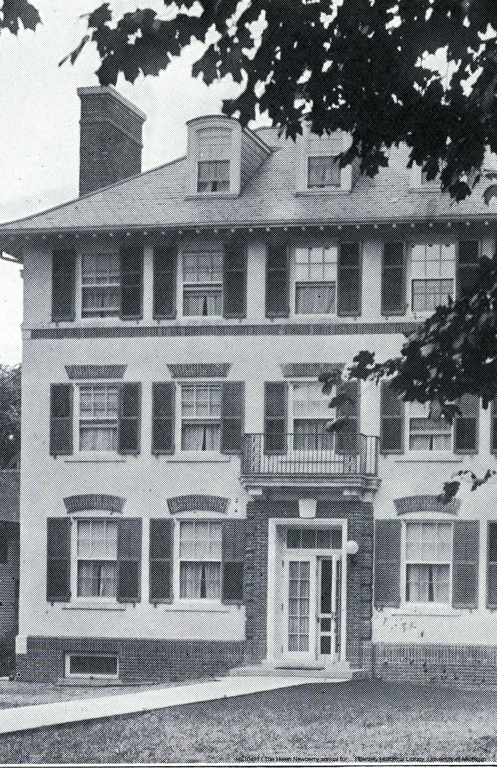 Photo of the Helen Newberry Residence Hall