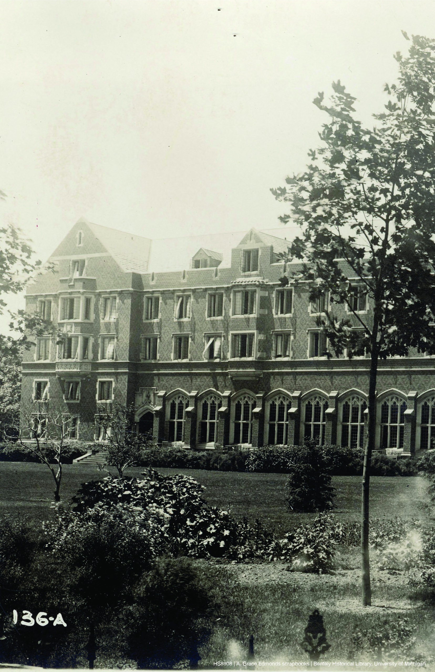 Photo of the Martha Cook Residence Hall
