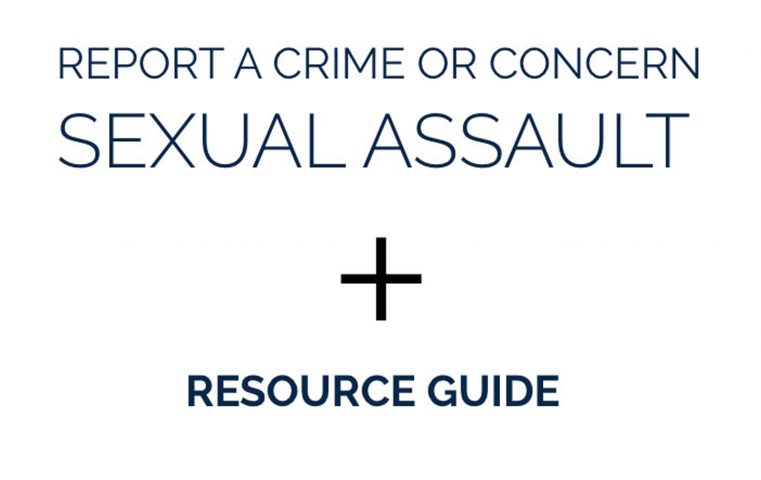 Link to DPSS information page on reporting sexual assault.