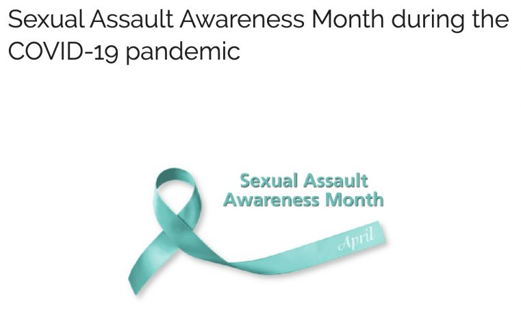 Link to DPSS Sexual Assault Awareness Month during the COVID-19 pandemic page