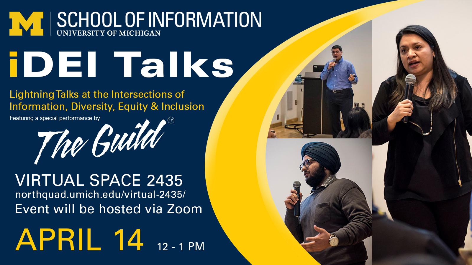 iDEI Talks at Virtual Space 2435